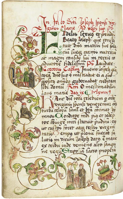 BREVIARY, use of Basel, in Lat