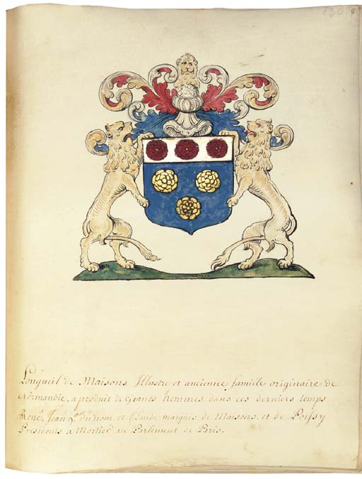 ARMORIAL OF NORMANDY AND THE C