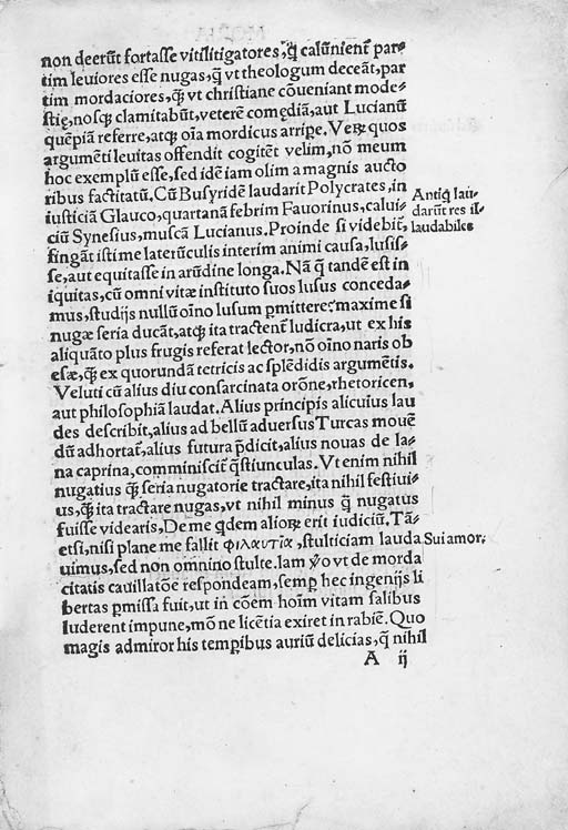 ERASMUS, Desiderius (1466?-153