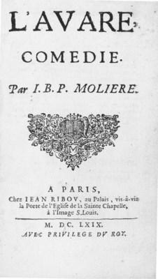 MOLIÈRE, Jean Baptiste Poqueli