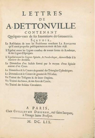 PASCAL, Blaise (1623-1662). Le