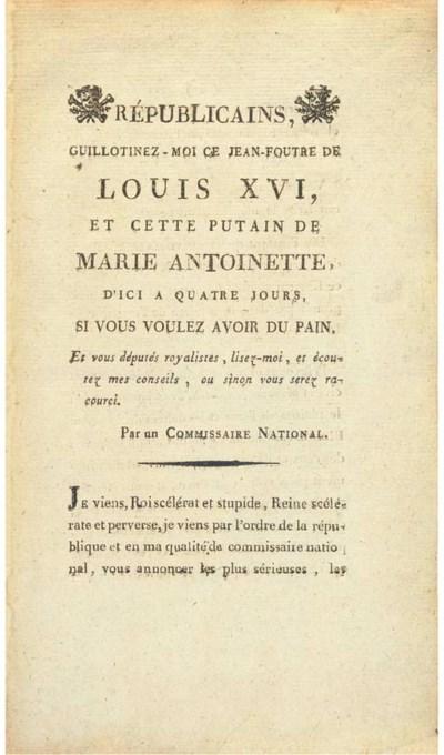 LOUIS XVI (1754-1793, King of