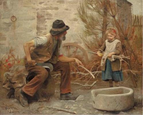 Arthur Hacker, R.A. (1858-1919