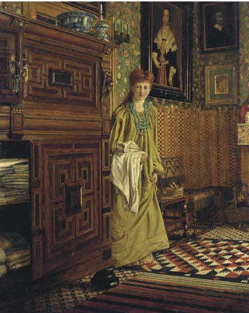 Ellen (Nellie) Epps, later Mrs Edmund Gosse (fl. 1873)