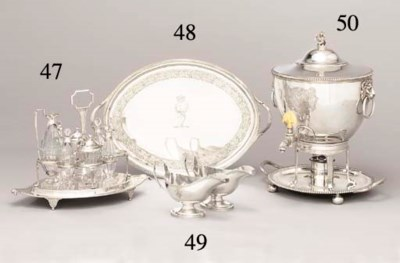 A George III silver and silver