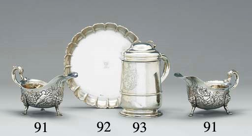 A rare George II silver Channe