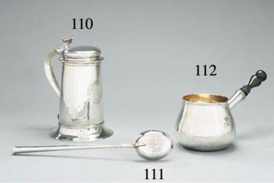 A Charles II silver basting-sp