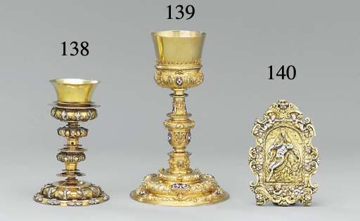 A Spanish colonial parcel-gilt