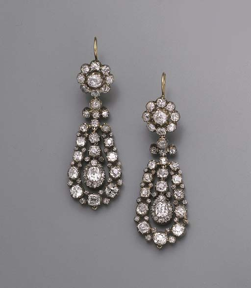 AN ATTRACTIVE PAIR OF ANTIQUE