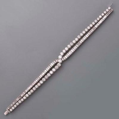 A DIAMOND BRACELET, BY BOUCHER