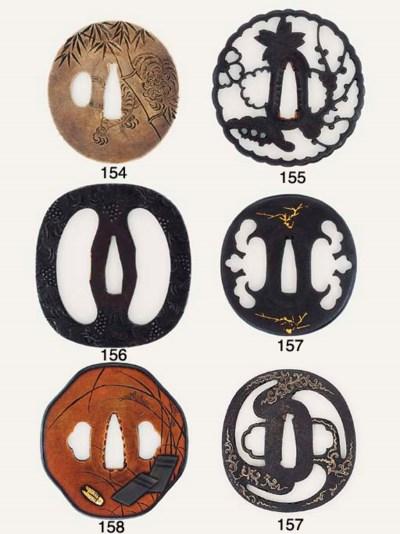 A SHIBUICHI TSUBA