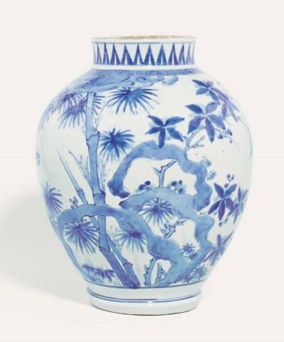 An Early Imari Vase