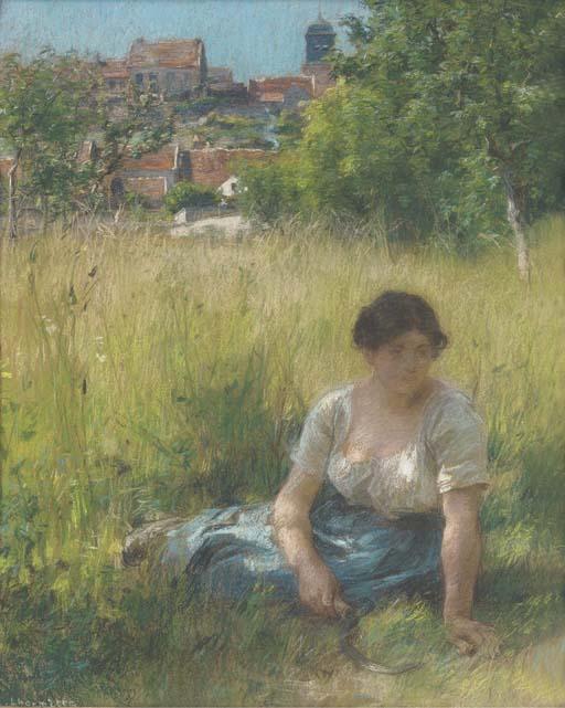 Léon-Augustin Lhermitte (Frenc