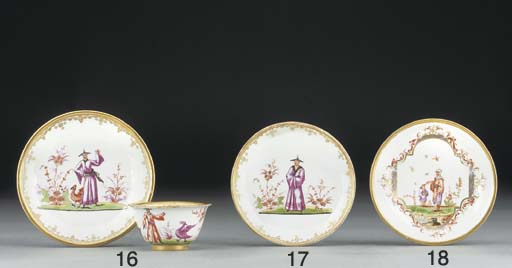 A Meissen Chinoiserie Hausmale