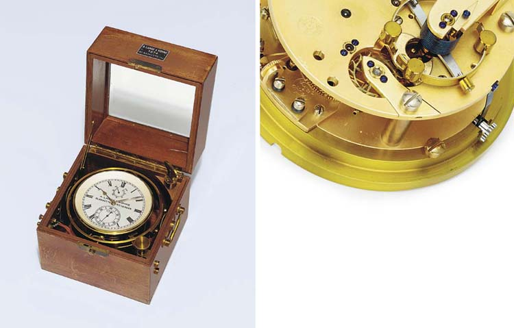 A rare German marine chronomet