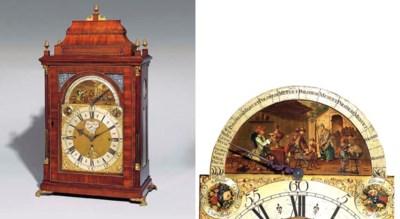 A George II mahogany musical a