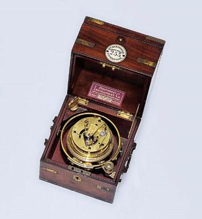A rare Victorian mahogany two-