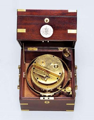 An Elizabeth II brass-bound ma