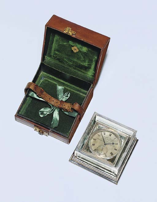 A Victorian two-day silver-cas