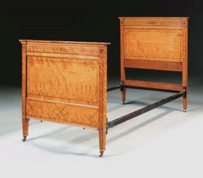 A PAIR OF LATE VICTORIAN SATIN