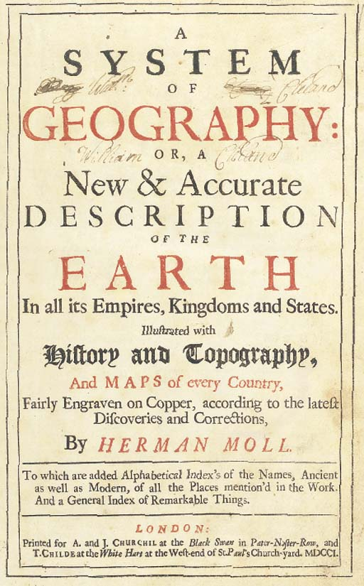 HERMAN MOLL (c.1654-1732)