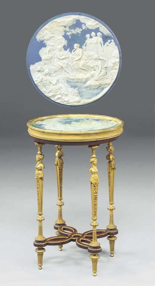 A fine Louis XVI style ormolu,