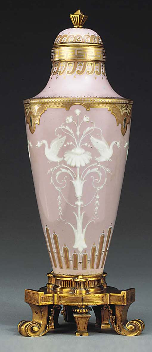 A Sevres (Second Empire) ormol