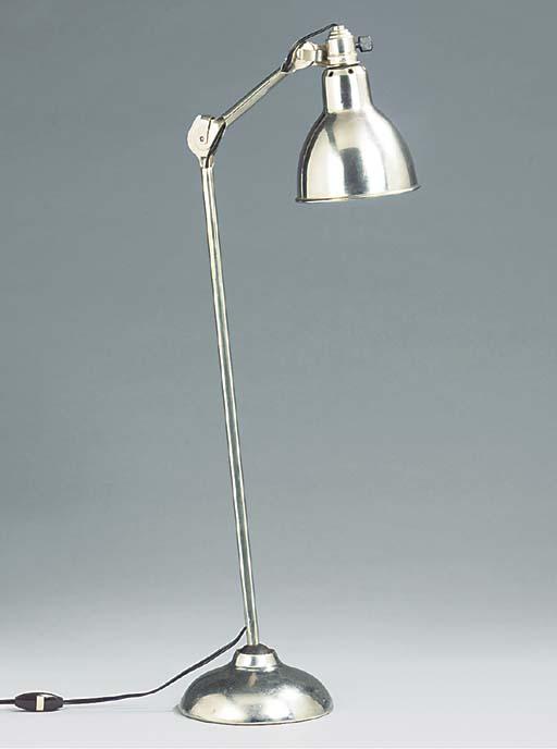 AN ADJUSTABLE GRAS DESK LAMP