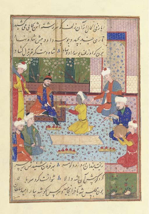 ILLUSTRATION TO A KHAMSA OF NI