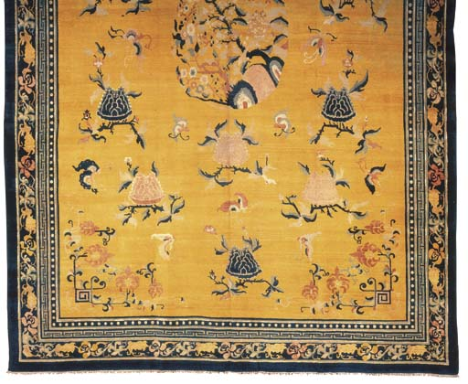 A LARGE INDO-CHINESE CARPET