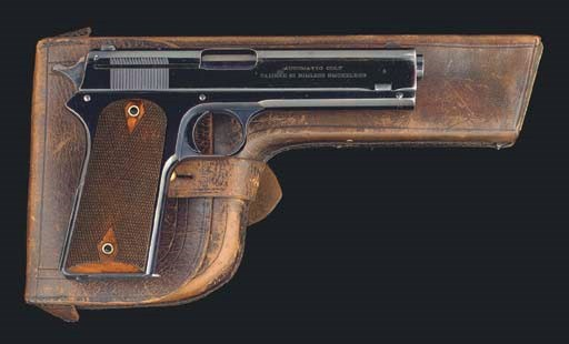 AN EXTREMELY RARE COLT .45 MOD