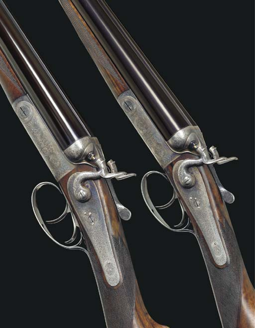 A FINE AND RARE PAIR OF 12-BOR