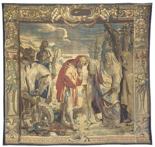 A BRUSSELS HISTORIAL TAPESTRY