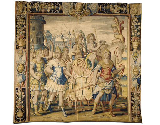 A PARIS HISTORICAL TAPESTRY