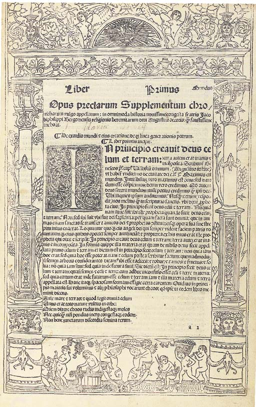 JACOBUS PHILIPPUS DE BERGAMO (