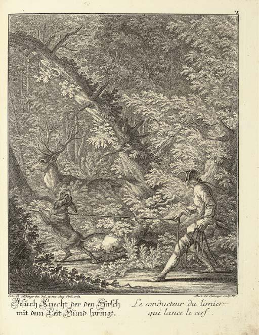 RIDINGER, Johann Elias (1698-1