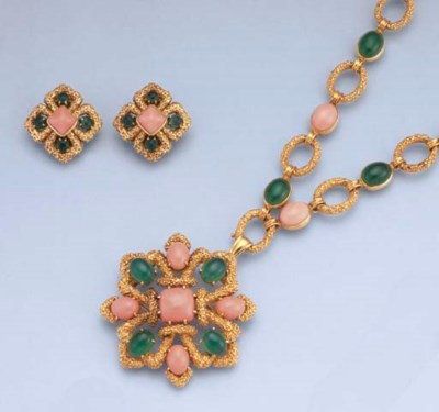 A CORAL AND CHRYSOPRASE SUITE,