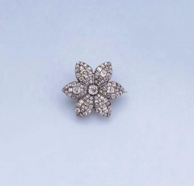 A LATE 18TH CENTURY DIAMOND FL