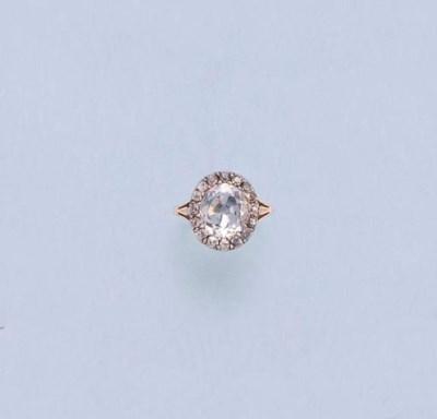A GEORGE III DIAMOND CLUSTER R