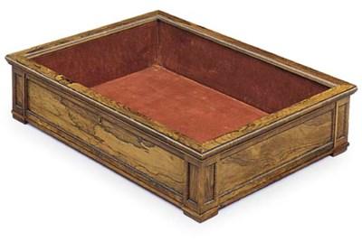 A GEORGE IV ROSEWOOD TABLE VIT