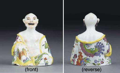 A MEISSEN KAKIEMON SEATED PAGO