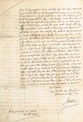DONNE, John (1572-1631). Autog