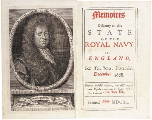 PEPYS, Samuel (1633-1703). Mem