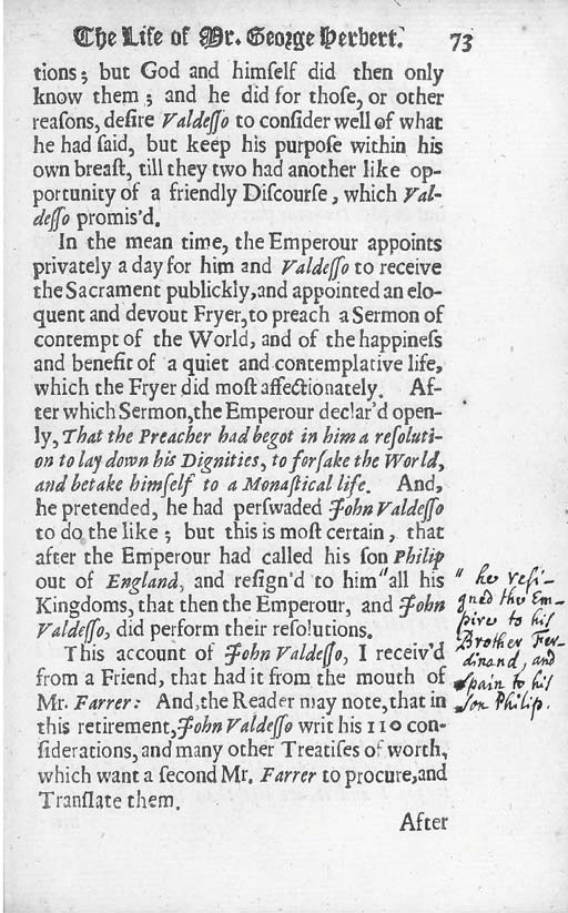 WALTON, Izaak 1593-1683). The