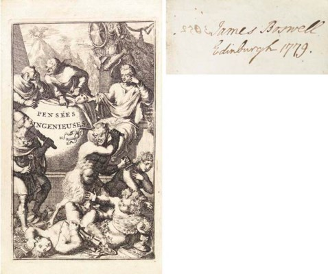 BOSWELL, James (1740-1795) --