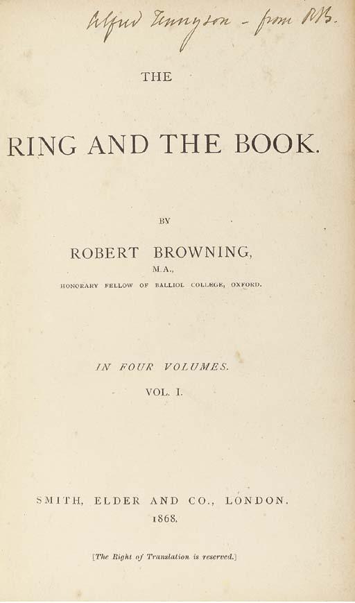 BROWNING, Robert (1812-1889).