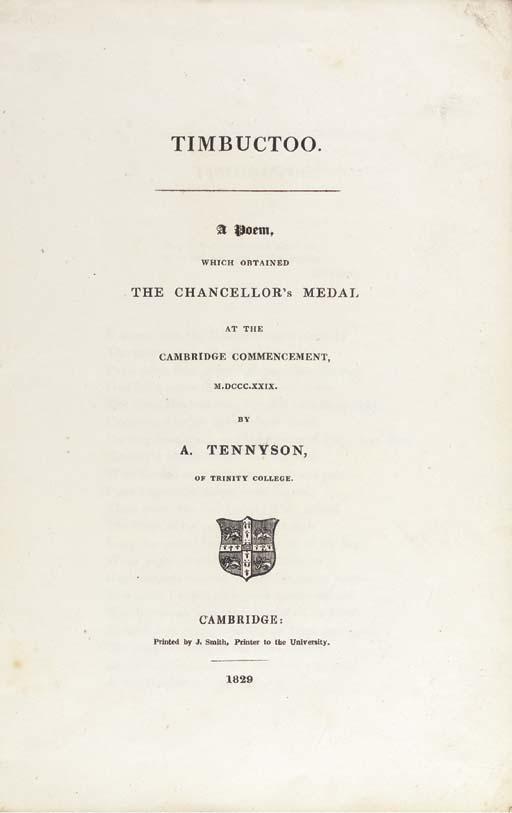 TENNYSON, Alfred, 1st Baron Te