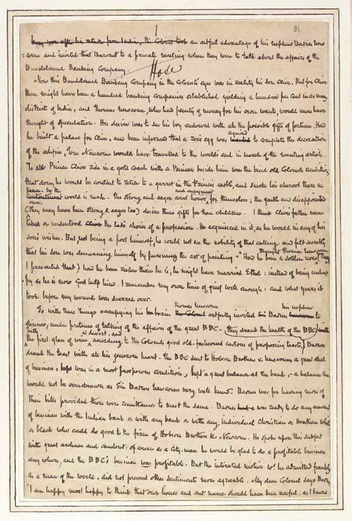 THACKERAY, William Makepeace (