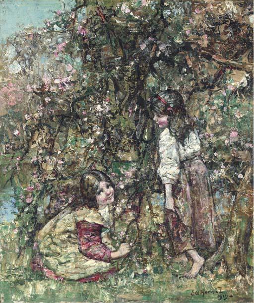Ernest Atkinson Hornel (1864-1