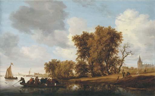Salomon van Ruysdael (Naarden ?1600/3-1670 Haarlem)